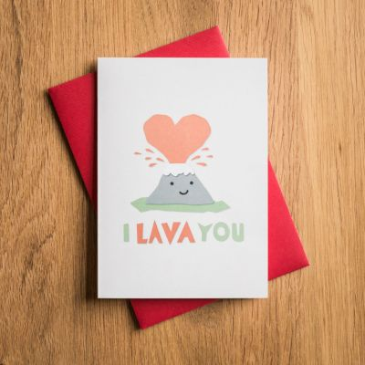 NEUES - Valentinstagskarte I Lava You