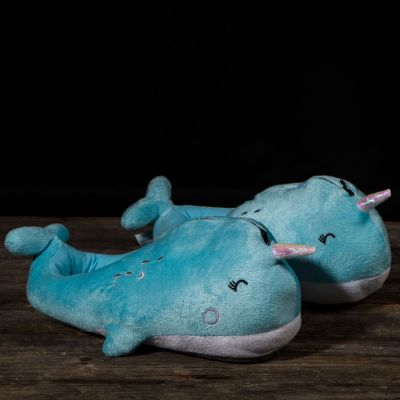Muttertagsgeschenke - Leuchtende Wal Hausschuhe