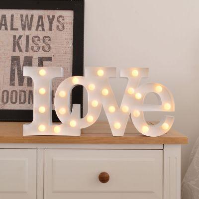 Geburtstagsgeschenk für Mama - LED Licht - Liebe