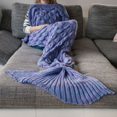 Geburtstagsgeschenk zum 20. - Meerjungfrauen Decke