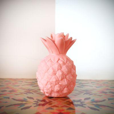 Geschenk zum Abschluss - Mini Ananas Leuchte Pink