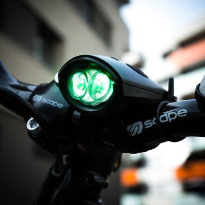 Outdoor & Sport - Mini Hornit Fahrradlicht mit Sound