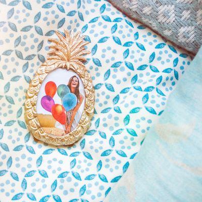 Muttertagsgeschenke - Ananas Bilderrahmen