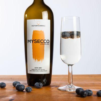 Geburtstagsgeschenk für Mama - MySecco Schaumwein zum Selbermachen