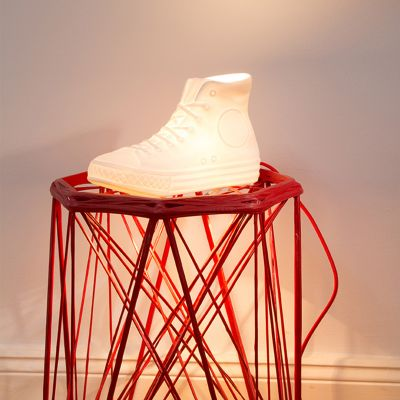 Retrokram - N.Y.C. Porzellan Lampe