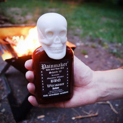 Geschenk für Freund - Painmaker Hardcore BBQ Würzsauce