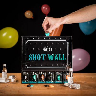 Geburtstagsgeschenk für Freund - Shotgläser-Wand Partyspiel