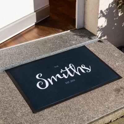 Geschenke für Frauen - Personalisierbare Fußmatte