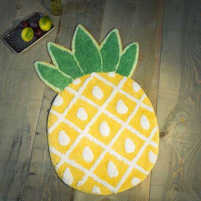 Geburtstagsgeschenk für Mama - Ananas Badezimmerteppich