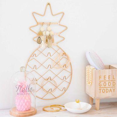 Weihnachtsgeschenke für Frauen - Ananas Schmuckhalter