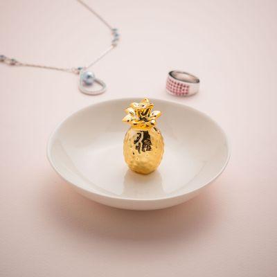 Kleine Geschenke - Ananas Schmuckschale