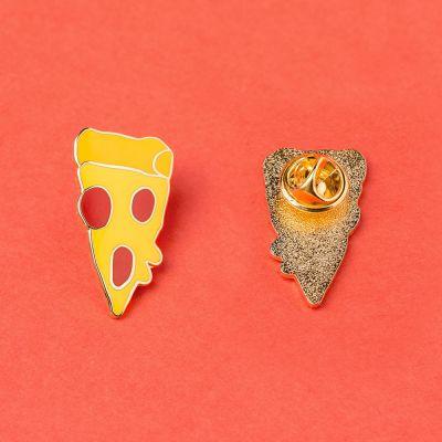 Accessoires - Pizzaschnitte Anstecknadel