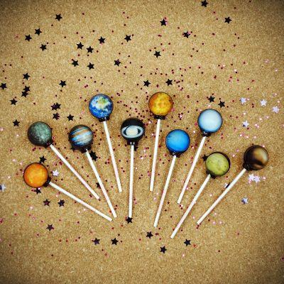 Süßigkeiten - Galaktische Lollipops