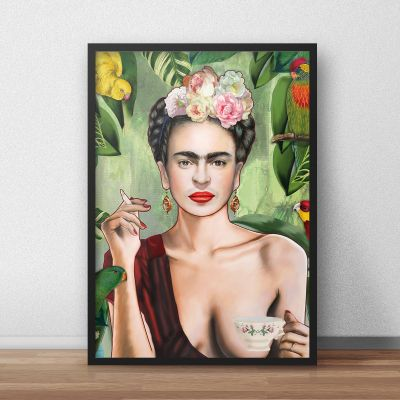 NEUES - Poster Frida by Nettsch