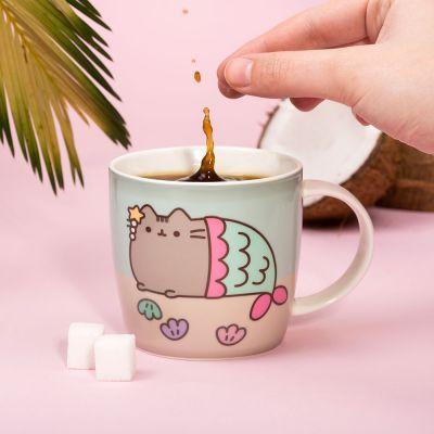 Geschenke für Frauen - Pusheen Wärmeempfindliche Tasse
