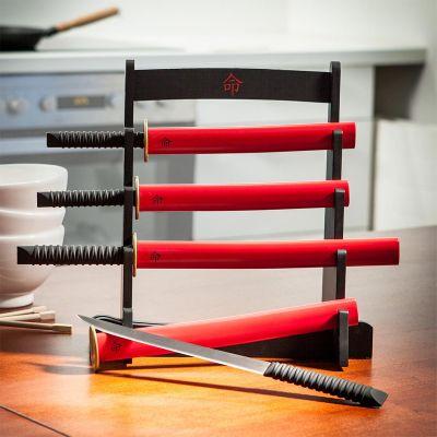Witzige Geschenke - Samurai Küchenmesser Set