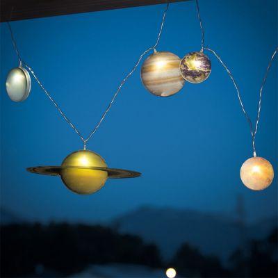Geschenke für Frauen - Sonnensystem Lichterkette