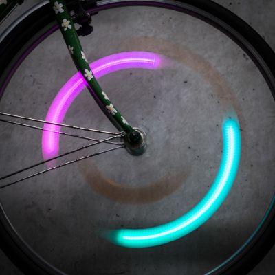 Outdoor & Sport - SpokeLit Fahrrad Speichenlicht mit Farbwechsel