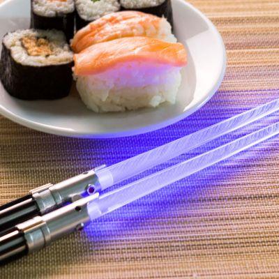 Vatertagsgeschenke - Star Wars Lichtschwerter Essstäbchen