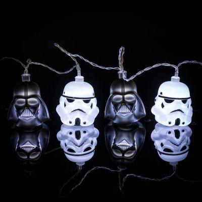 Film & Serien - Star Wars Darth Vader & Stormtrooper Lichterkette