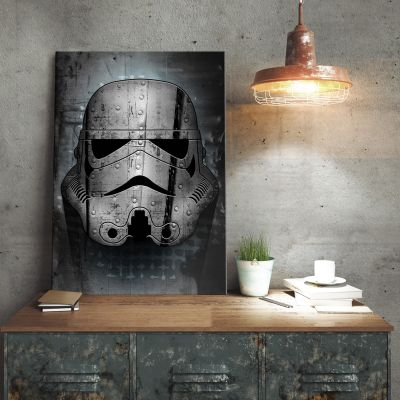 Film & Serien - Star Wars Metallposter - Irontrooper