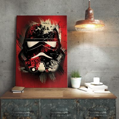 Film & Serien - Star Wars Metallposter - Stormtrooper Splatter