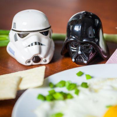 Vatertagsgeschenke - Star Wars Salz- und Pfefferstreuer