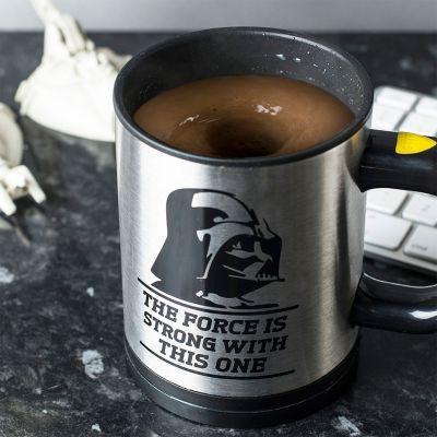Geburtstagsgeschenk zum 20. - Star Wars Selbstrührende Tasse