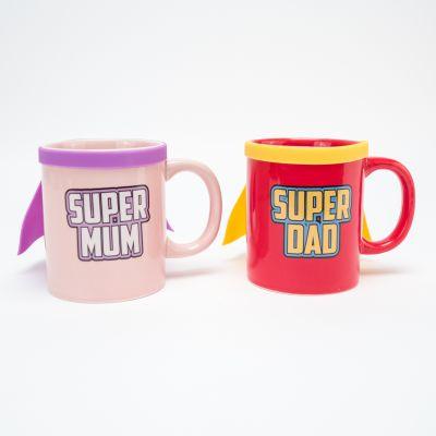 Wohnen - Super Mum & Super Dad Tasse
