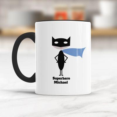 Geburtstagsgeschenk zum 50. - Superheld/in - Personalisierbare Tasse