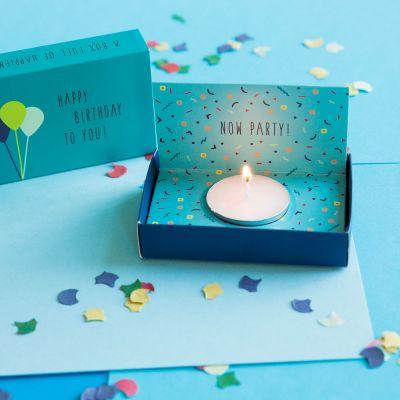 Kleine Geschenke - Überraschungs-Geburtstags-Box