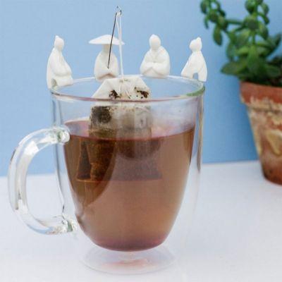 Essen & Trinken - Fischer Teebeutelhalter 4er Set