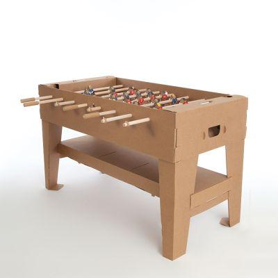 Spass im Büro - Tischfußball-Set aus Karton