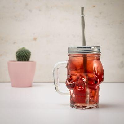 Kleine Geschenke - Totenkopf Trinkglas