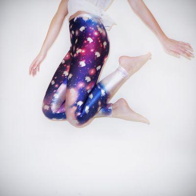 Homewear - Galaxy Einhorn Leggings