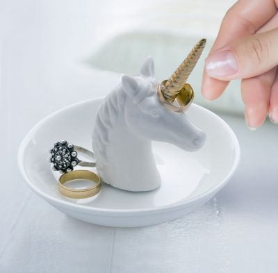 Kleine Geschenke - Einhorn Ringhalter