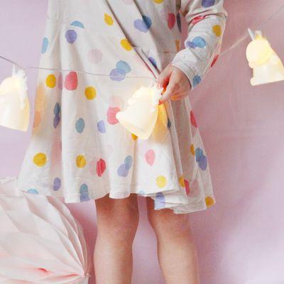 Romantische Geschenke - Einhorn Lichterkette