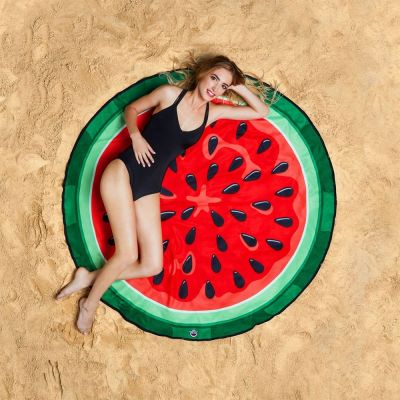 Outdoor - Wassermelonen Strandtuch