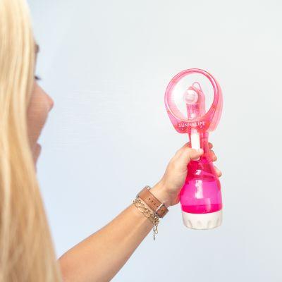 Weihnachtsgeschenke für Mama - Sprühnebel-Ventilator in Pink