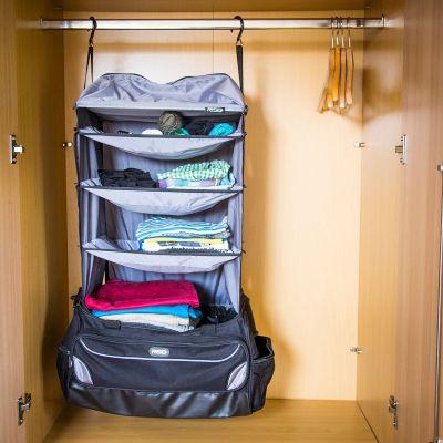 Abschiedsgeschenk - Weekender Reisetasche mit integrierter Garderobe