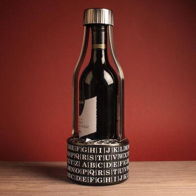 Abschiedsgeschenk - Wein-Kryptex Vino Vault