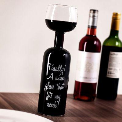 Witzige Geschenke - Weinflaschen Glas