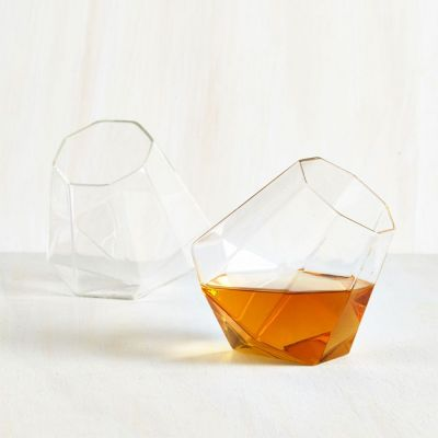 Retrokram - Diamant Whisky Gläser