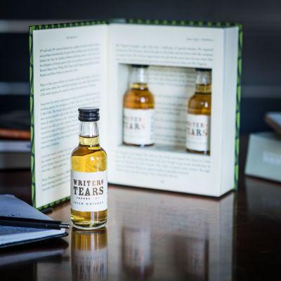 Vatertagsgeschenke - Writers Tears Irish Whiskey Geschenke-Set