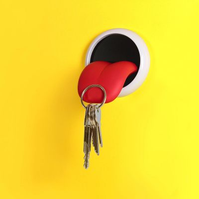 Weihnachtsgeschenke für Frauen - Magnetischer Schlüsselhalter Zunge