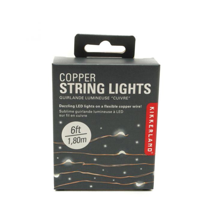 Lichterkette aus Kupfer | Blitzlieferung
