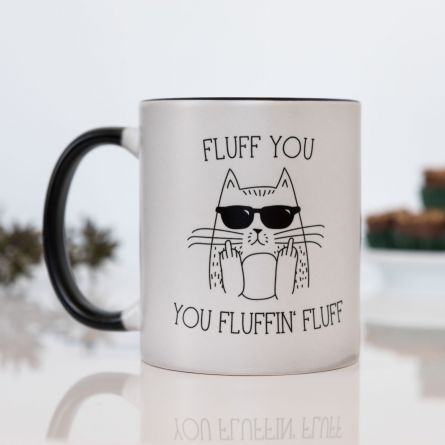 Fluff You Temperaturempfindliche Tasse