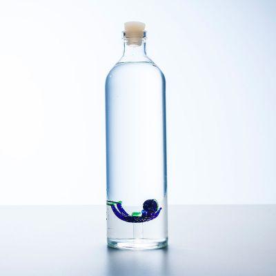 Wasserflasche mit Taucher