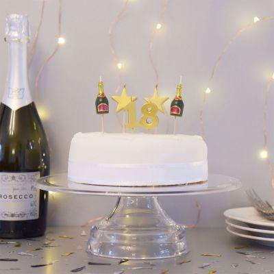 Geburtstagsgeschenk zum 18. - Geburtstagskerzen-Sets zum 18., 21. oder 30. Geburtstag