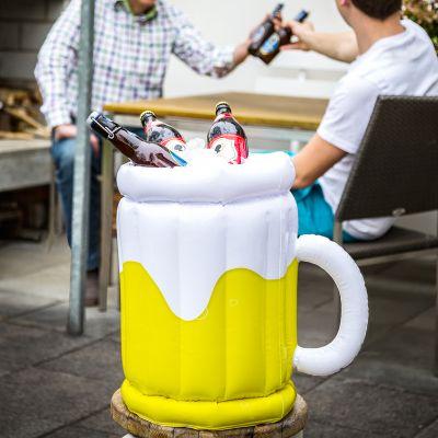 Geschenk für Freund - Aufblasbarer Bierkühler